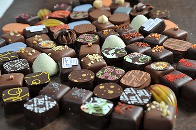 8. PRODUITS DE LA CHOCOLATERIE </br></br> 8. FROM THE CHOCOLATERIE