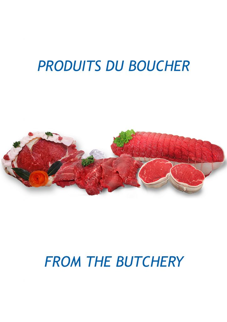 from the butchery
